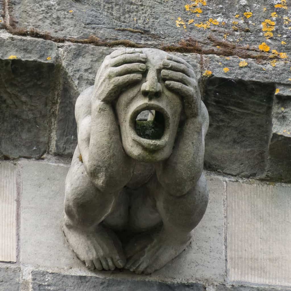 Paisley Abbey gargoyle 4
