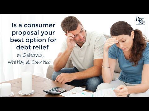 Obtain A Consumer Proposal in Oshawa through a Licensed Insolvency Trustee
