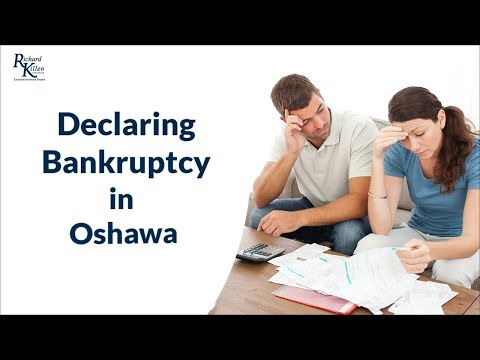 Filing for Bankruptcy in Oshawa & Whitby Overview by a Licensed Insolvency Trustee