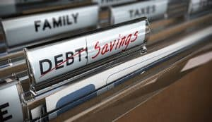 Debt File Turned Into Savings With Debt Help
