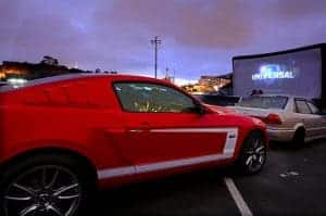 movie drive in