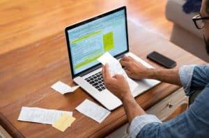 audit credit card bill