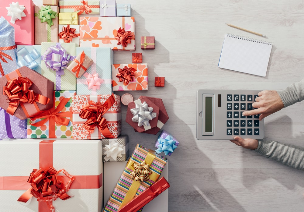 holiday overspending