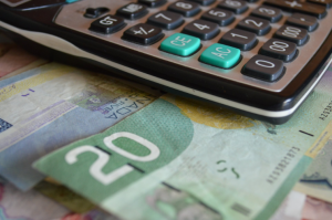 canadian dollars and calculator